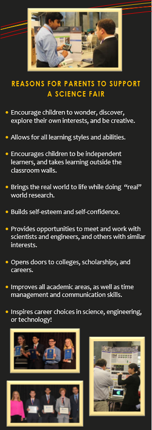 Reasons for Parents to Support Science Fair