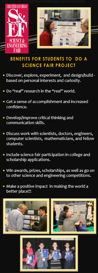 """""Reasons for Students to Participate in Science Fair"""""