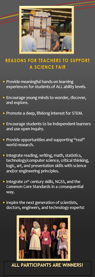 Reasons for Teachers t o Participate in Science Fair
