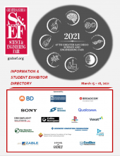2021 Information and Student Exhibitor Directory Front Cover